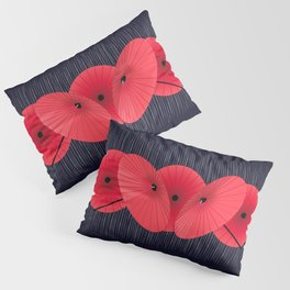 Lucky Umbrellas Pillow Sham