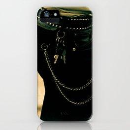 Rockabilly look iPhone Case