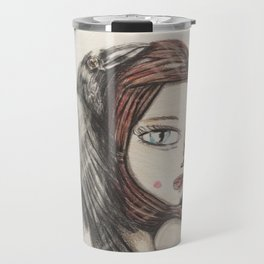 raven series Travel Mug