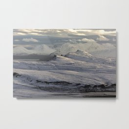 Trotternish Peninsula and Cuillin Mountains Isle of Skye Metal Print