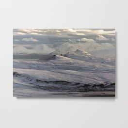 Trotternish Peninsula and Cuillin Mountains Isle of Skye Metal Print