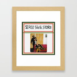 east side story Framed Art Print