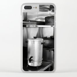 SS Valley Camp Galley Clear iPhone Case
