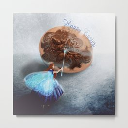 Easter Fairy Metal Print