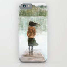 Girl on the pier iPhone 6s Slim Case