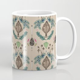 flounder  fish vintage dream Coffee Mug