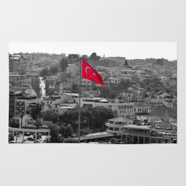 Flag of Turkey POP Rug