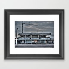 The End of South East Austin Framed Art Print