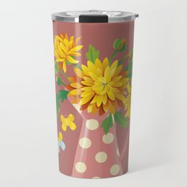Fragrant Autumn Chrysanthemums Travel Mug