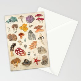 Layman's Fungal Field Guide Stationery Cards