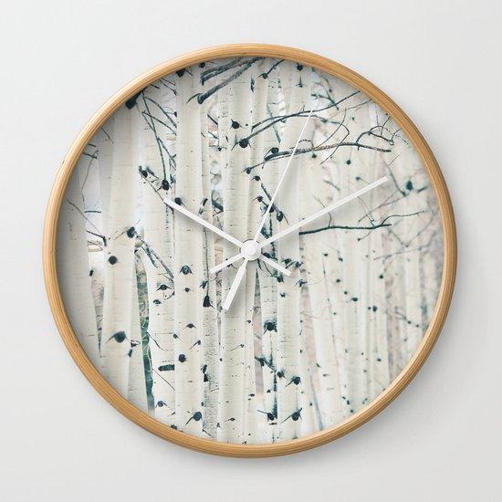 Aspen I Wall Clock