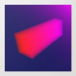 Layer Rectangle Canvas Print