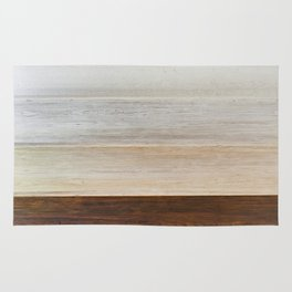 Background wooden toning panels Rug
