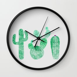My little friend Cactus #4 Wall Clock
