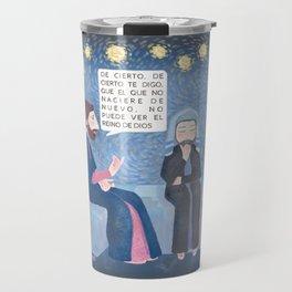 Juan 3:3 Nacer de nuevo Travel Mug