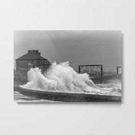 Stevenston Storms Metal Print