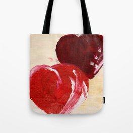 Twin hearts belong together Tote Bag