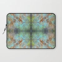 Gold Abstract Laptop Sleeve