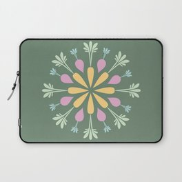 Vegetable Mandala Laptop Sleeve