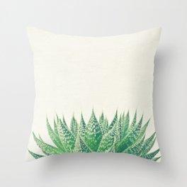 Lace Aloe Throw Pillow