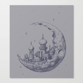 Arabian Crescent Canvas Print