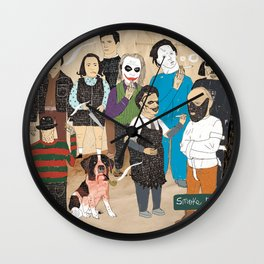 Smoke Break Wall Clock