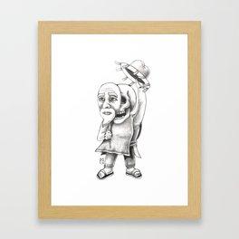 The huichol Framed Art Print