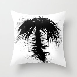 By The Palm Throw Pillow