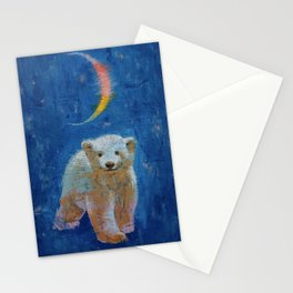 Polar Bear Cub Stationery Cards