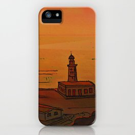Good Morning / New and Old Lighthouse Fuencaliente La Palma iPhone Case