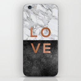 Love Copper iPhone Skin