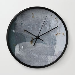 Paint on the Wall 2 Wall Clock