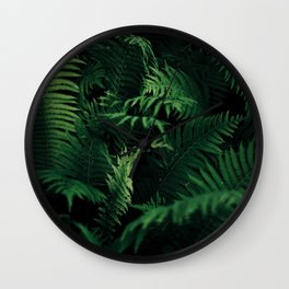 Leaves In The Dark vol.2 Wall Clock