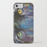 panther iPhone & iPod Cases featuring Panther by Michael Creese