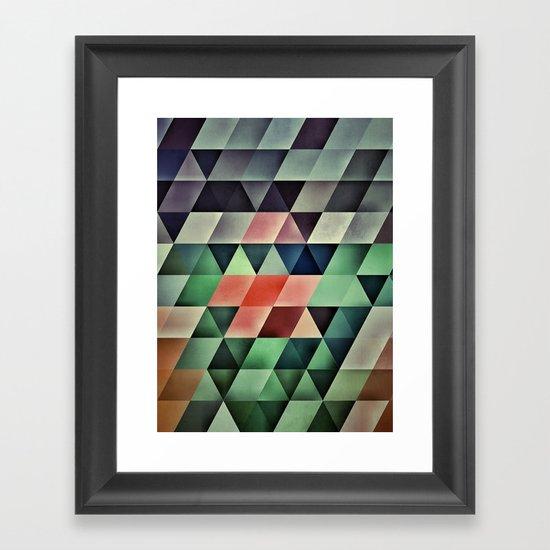 ZERO SIX SIX EIGHT Framed Art Print