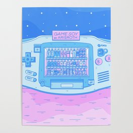 GAME SOY Advance Vending Machine - Japanese Dreamscape Poster
