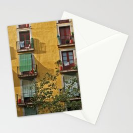 Windows in Barcelona Stationery Cards