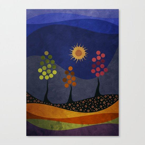 Paisaje y color Canvas Print