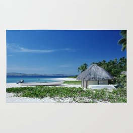 Tropical South Pacific Island Rug
