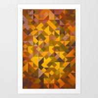Flagstaff, Autumn Aspen Art Print