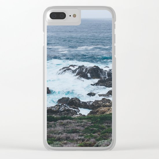 Northern California Coast Photography Clear iPhone Case