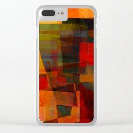 autumn landscape Clear iPhone Case