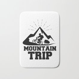 Mountain trip Bath Mat