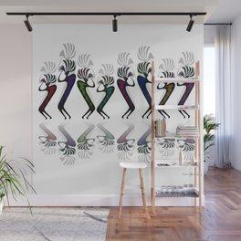 JAZZY KOKOPELLI LINE DANCE Wall Mural