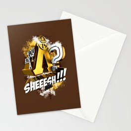 You Ain't A Lambda? SHEEESH!!! Stationery Cards
