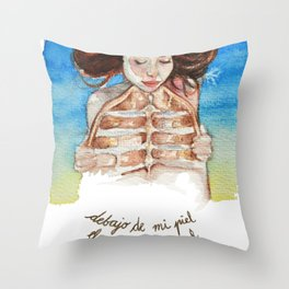 Animal Instinct Throw Pillow