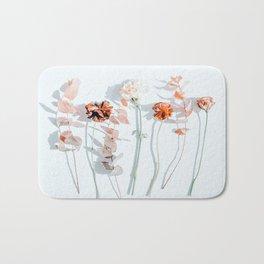Minima #phoography #floral Bath Mat