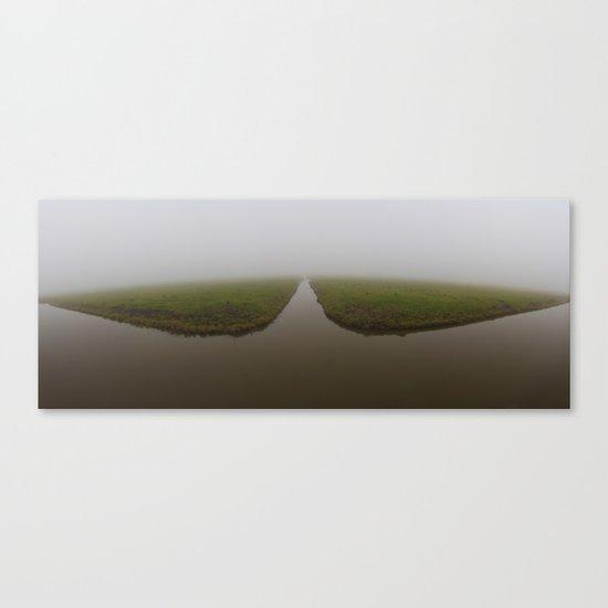 Polder Mist Canvas Print