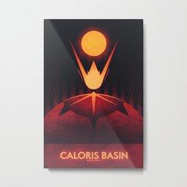 Mercury - Caloris Basin Metal Print