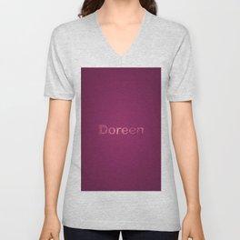 Doreen Unisex V-Neck